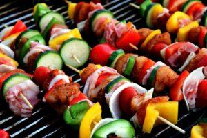 Warme Sommertage laden zum Grillen ein