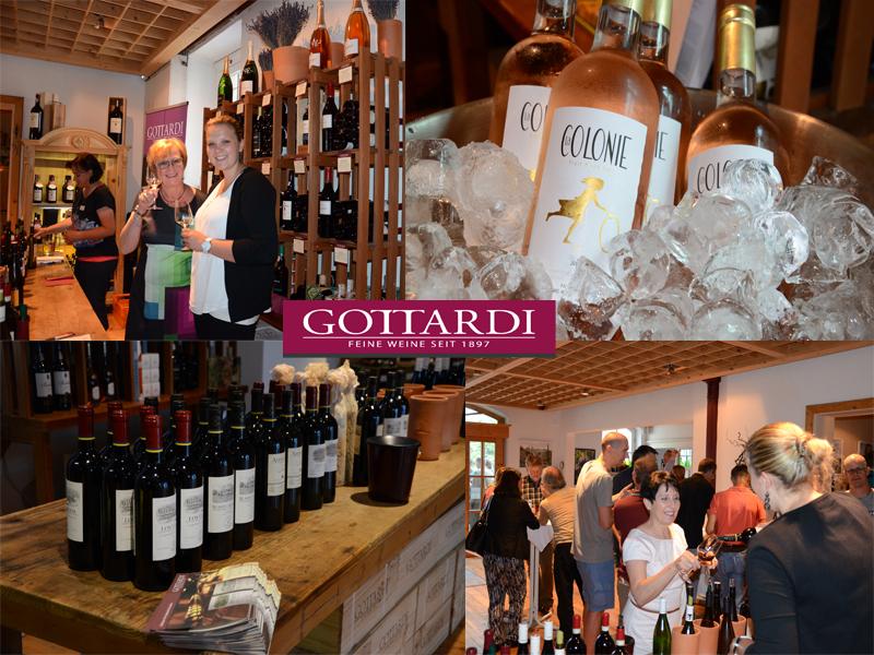 Sommerweinverkostung Gottardi