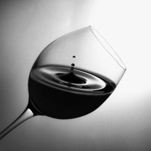 Ein schönes Glas rundet den Weingenuss ab.