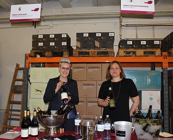 Dürfen bei Gottardis Frühlingsverkostung nicht fehlen: die Weingüter Anton Bauer (Wagram) und das Weingut Rotes Haus, Mayer am Pfarrplatz (Wien)