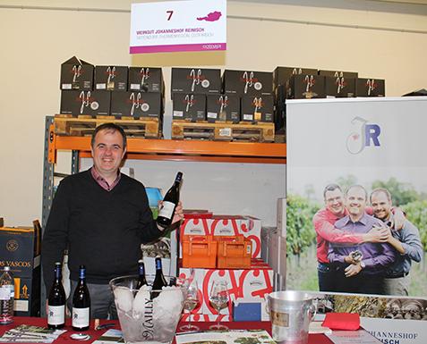 Auch das Weingut Johanneshof Reinisch präsentierte seine Weine.