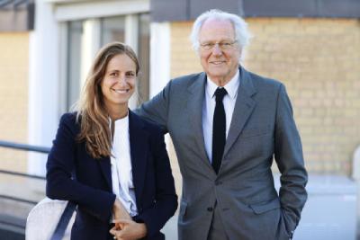 Saskia und Baron Eric de Rothschild