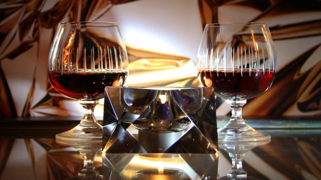 Edle Gläser begleiten hochwertigen Cognac Domaine de la Voûte – Ragnaud-Sabourin