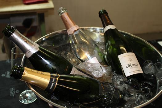 Die Perlen von Mailly-Champagne fanden rasch viele Abnehmer ...