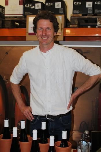 """Aus dem """"schönsten Weingarten Europas""""(Südtirol): Andreas Huber vom Pacherhof."""