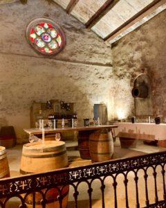 Kapelle und Weinkeller in einem