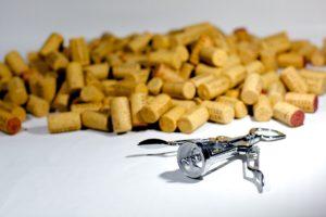 Für viele der Schlüssel zum Glück: der Korkenzieher.