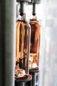 Der Frühling in Flaschen gefüllt.