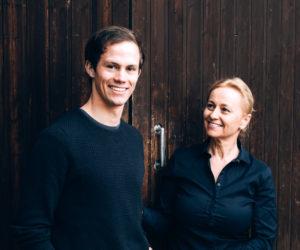Lorenz und Michaela Haas vom Weingut Allram im Kamptal.