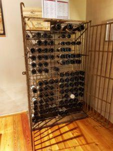 In diesem Schrank lagern die größten Schätze des Gottardi-Sortiments.