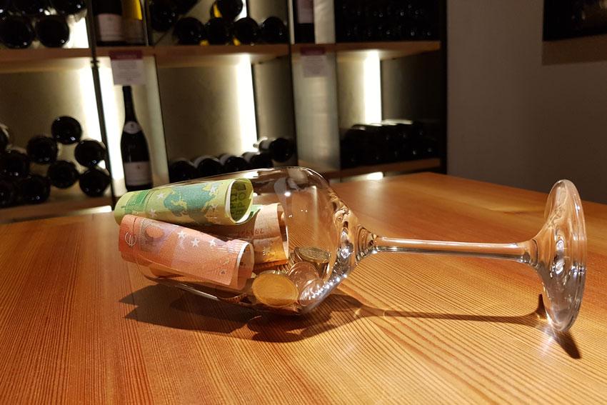 Wie viel darf ein Wein kosten?