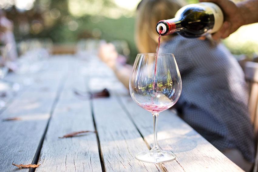 Den richtigen Wein hat man immer zu Hause.