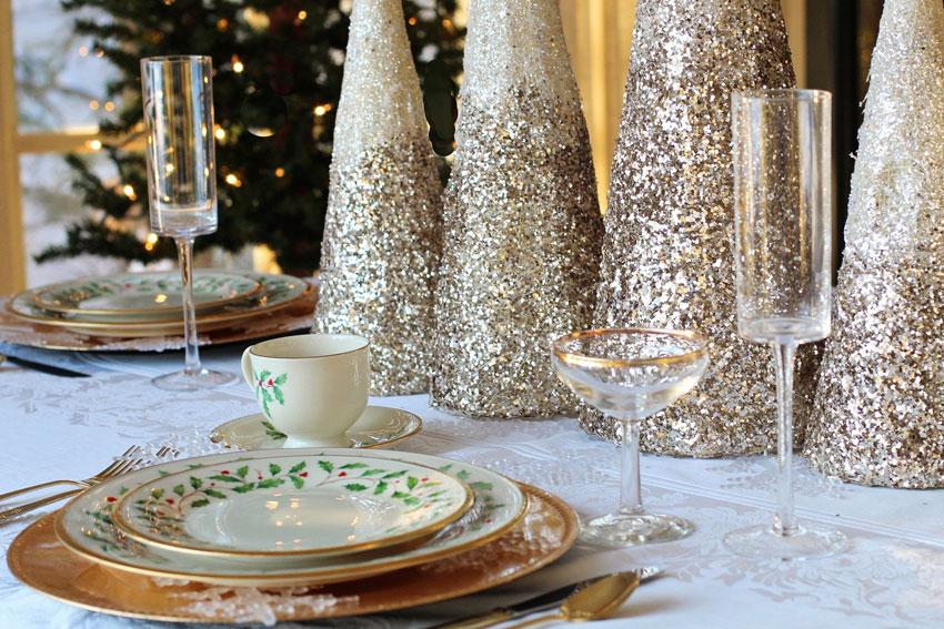 Für die Festtage darf das Weinsortiment gerne etwas luxuriöser sein: Champagner & Co machen jedes Essen zum Fest!