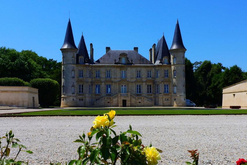 Schloss in Bordeaux