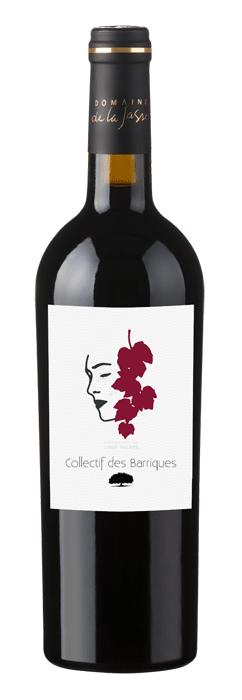 Flasche aus dem Barrique-Kollektiv mit schönem Etikett.